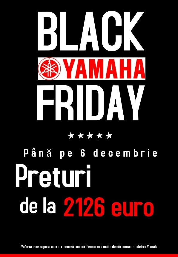 BLACK FRIDAY YAMAHA