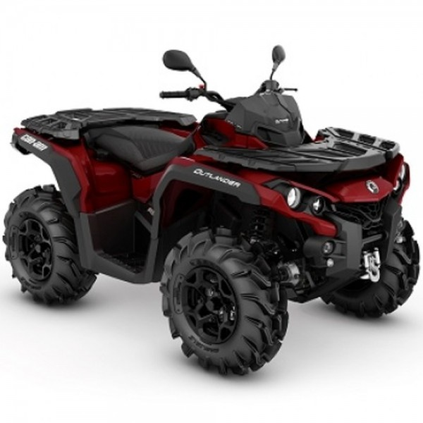 CAN-AM OUTLANDER 650 PRO+ T 2019