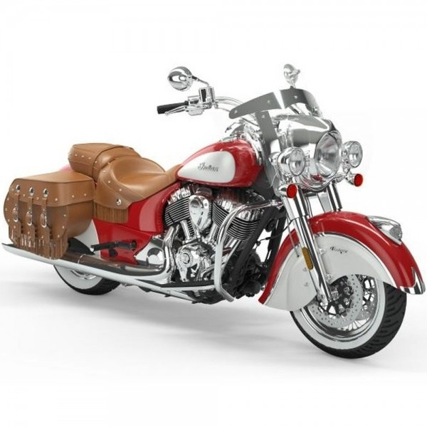 INDIAN Vintage Patriot Red/Pearl White ICON 2019
