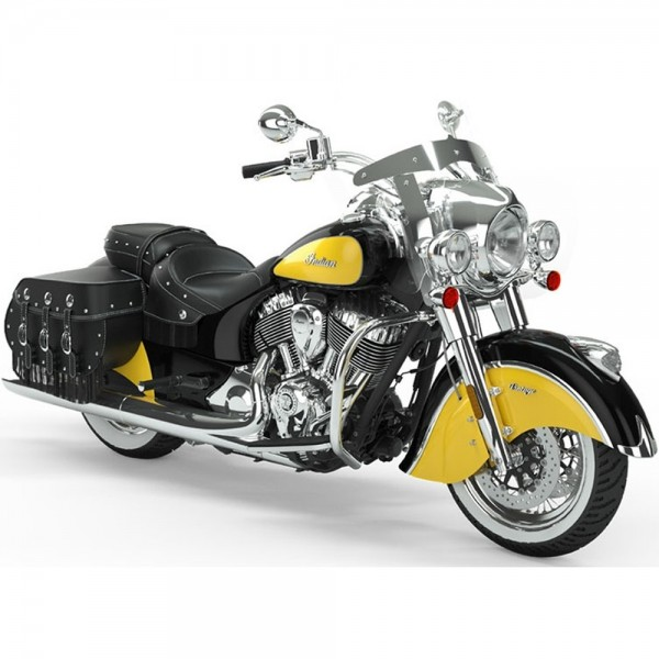 INDIAN Vintage Thunder Black/Indian Motorcycle Yellow ICON 2019