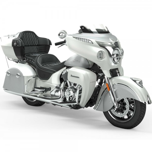 INDIAN ROADMASTER Pearl White/Star Silver 2019