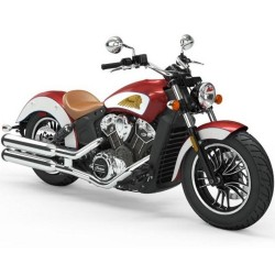 INDIAN Scout 1200 Ruby Metallic/White  ICON 2019