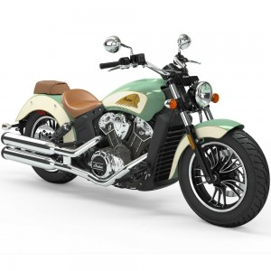 INDIAN Scout 1200 Willow Green/Ivory White  2019