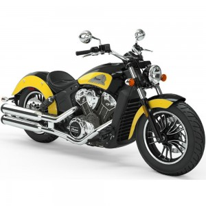 INDIAN Scout 1200 Thunder Black/Indian Motorcycle Yellow  ICON 2019