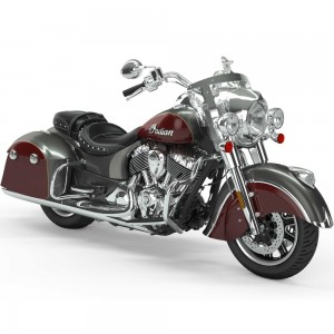 INDIAN Springfield Steel Gray/Burgundy Metallic 2019